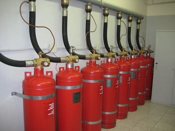 Газовое пожаротушение — это