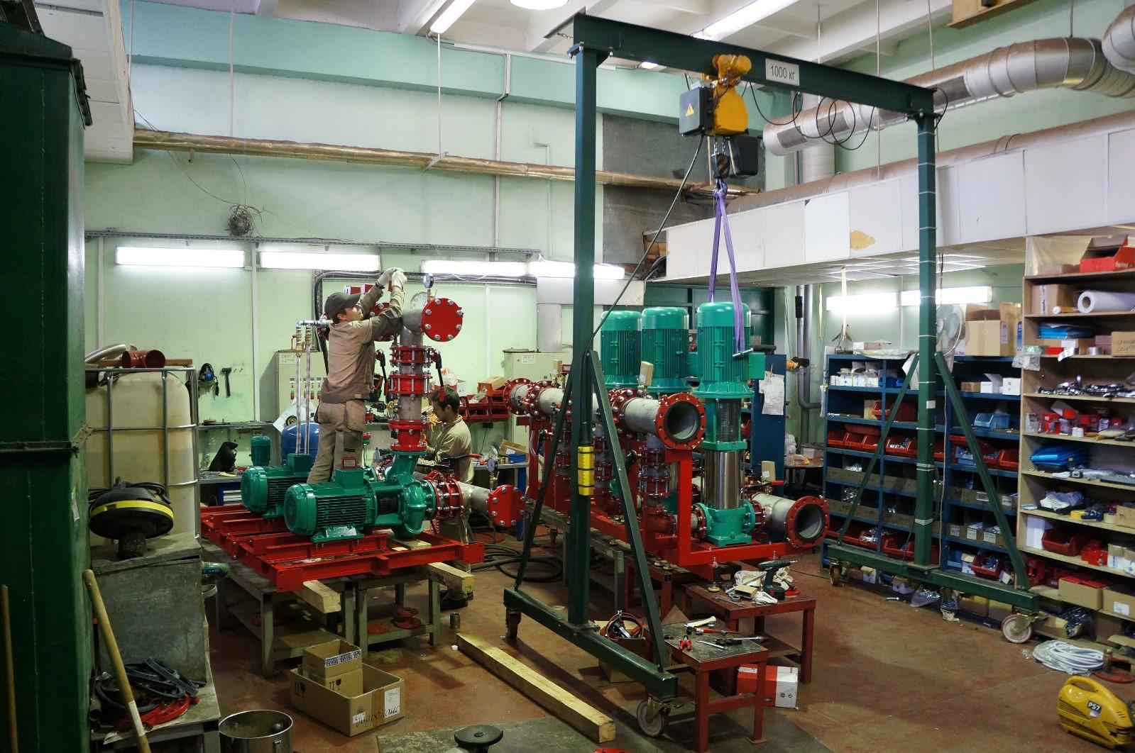 Производство Технологического оборудования (насосные установки)